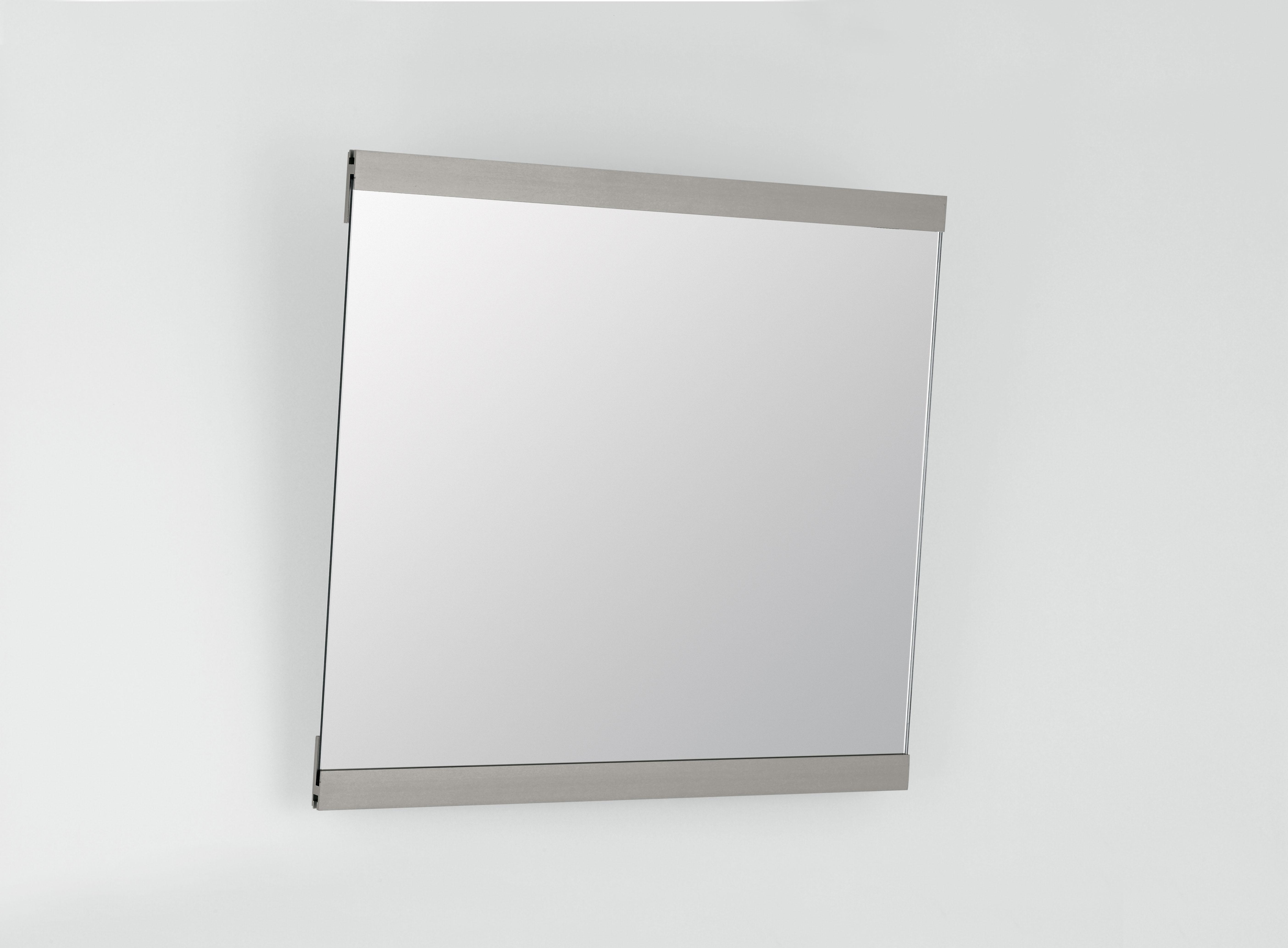 Kippspiegel mit Rahmen Alu