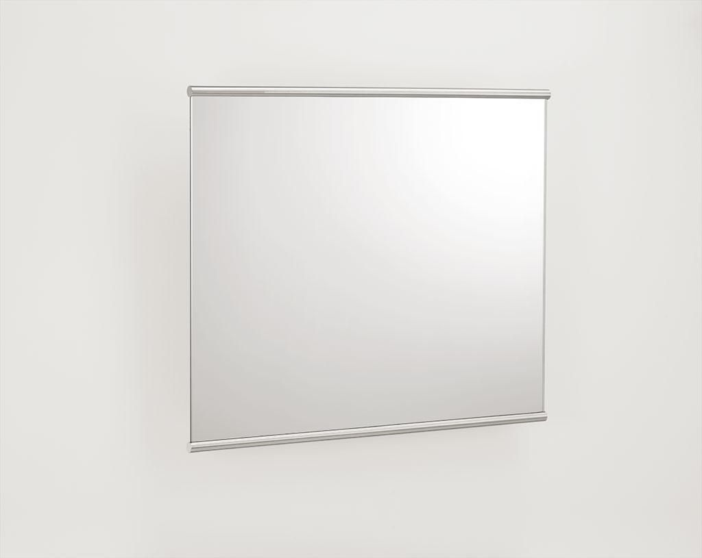 Kippspiegel mit Rahmen Edelstahl