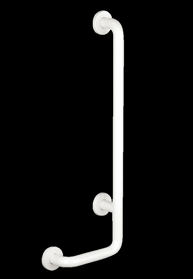 Duschhandlauf mit verschiebbaren Brausehalter L-Form Nylon