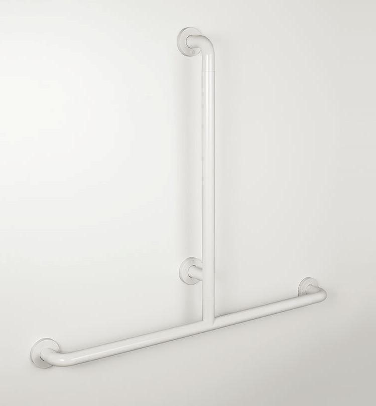 Duschhandlauf mit verschiebbaren Brausehalter T-Form Nylon